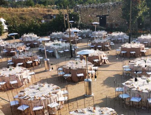 Lo que el Caserío de Lobones nos aconseja sobre las bodas 2021 al aire libre
